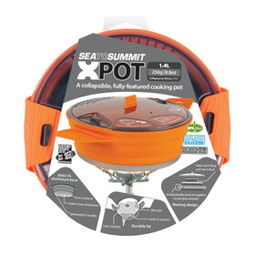 Sea to Summit X-Pot 1,4L orange